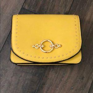 Topshop yellow crossbody bag